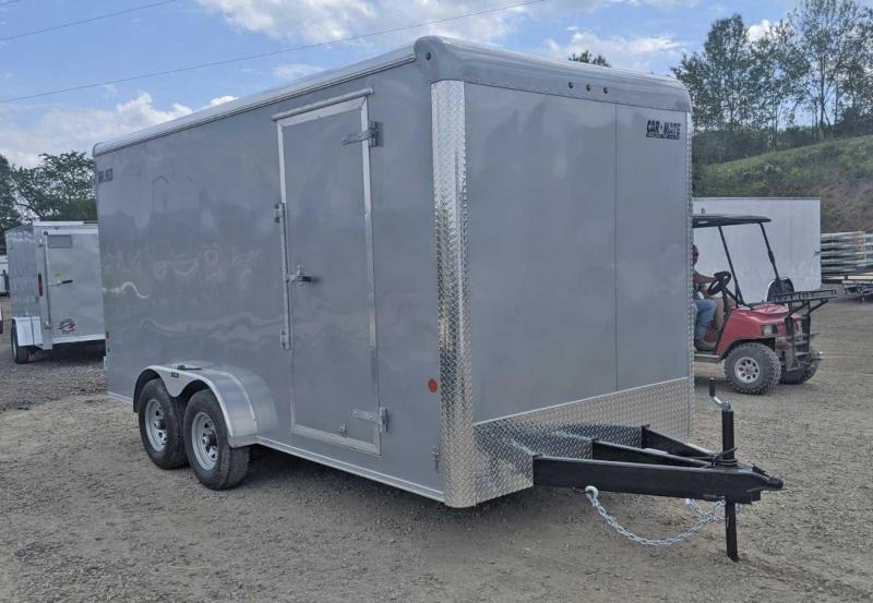 "NEW 2020 Car Mate 7x16 HD Custom Cargo Trailer w/ Barn Doors (12"" Add'l Hgt - 10K)"