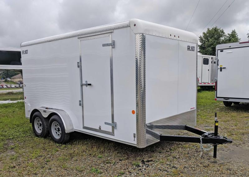 NEW 2020 Car Mate 7x14 HD Custom Cargo Trailer w/Barn Doors