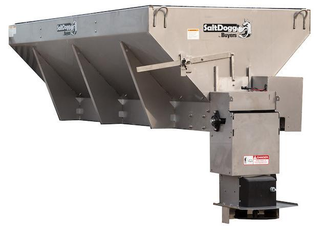 NEW SaltDogg 2.5 Cu. Yd. 10' Stainless Steel Hopper Salt Spreader  (Only 1 left in Stock!)