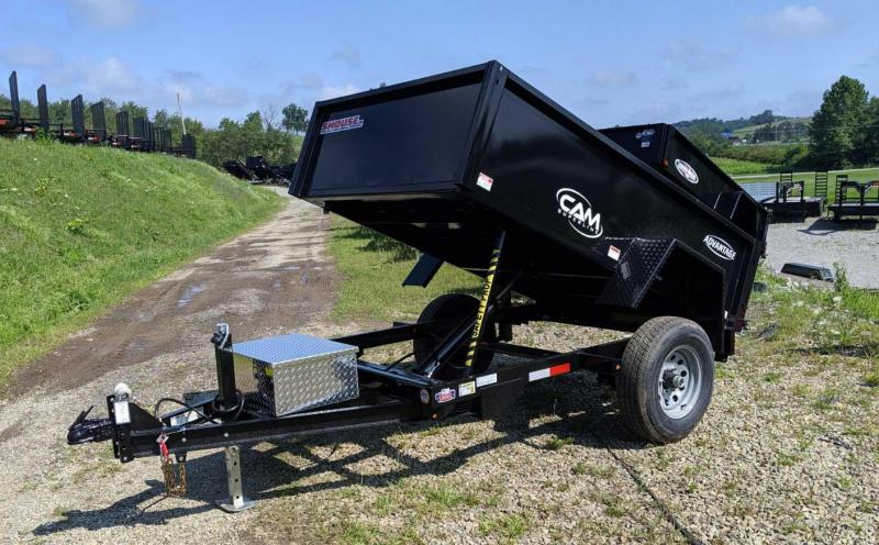 "NEW 2020 CAM ""Advantage"" 5x8 Lo Pro Dump Trailer"