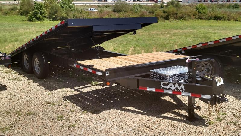 NEW 2020 CAM SUPERLINE 24' (4+20) Deckover Split Tilt Trailer