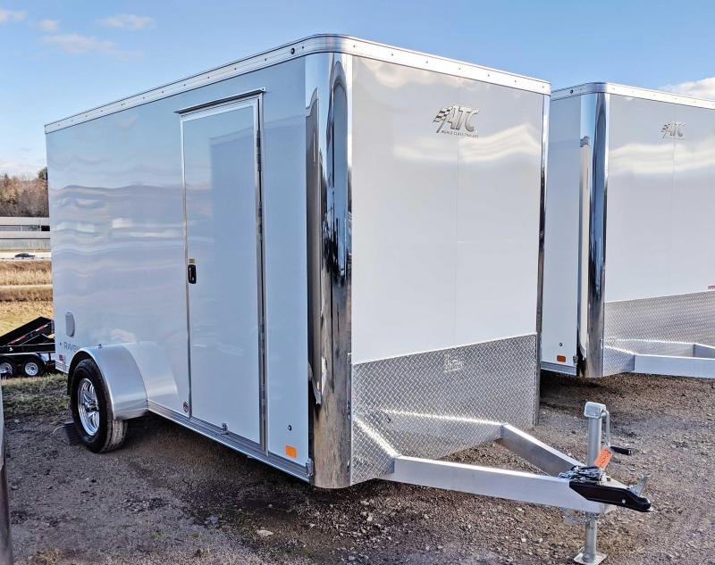 "NEW 2019 ATC 6X12 ""RAVEN"" Aluminum Cargo Trailer w/Barn Doors"
