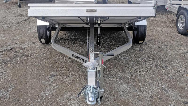 "NEW 2020 Aluma 6'8"" x 10 HD TILT Trailer"