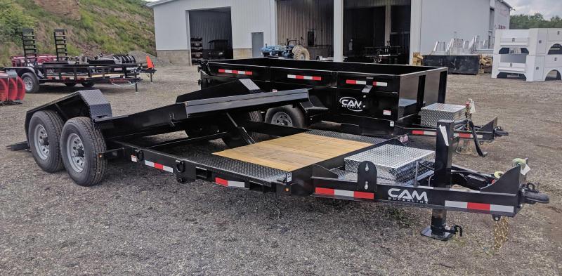 NEW 2020 CAM SUPERLINE 20' (4+16) XW Lo Pro Split Tilt  (6K Axles)
