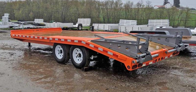 NEW 2020 Bwise 15+5 HD Deckover Tagalong Trailer w/ 5' Wedge Ramps