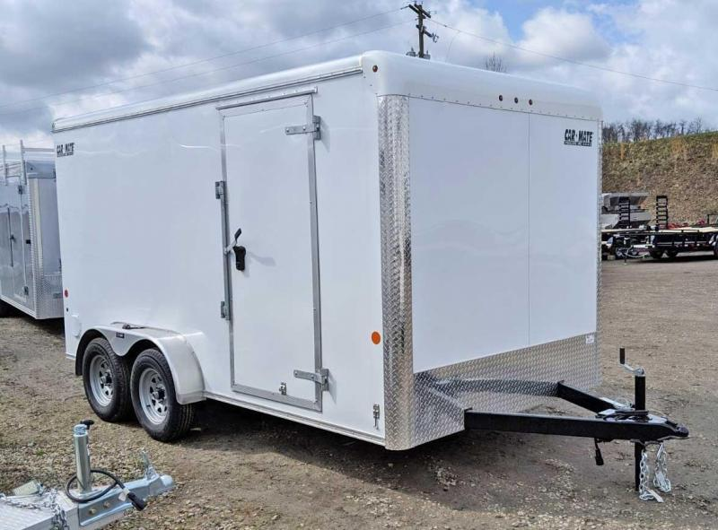 NEW 2020 Car Mate 7x14 HD Custom Cargo Trailer