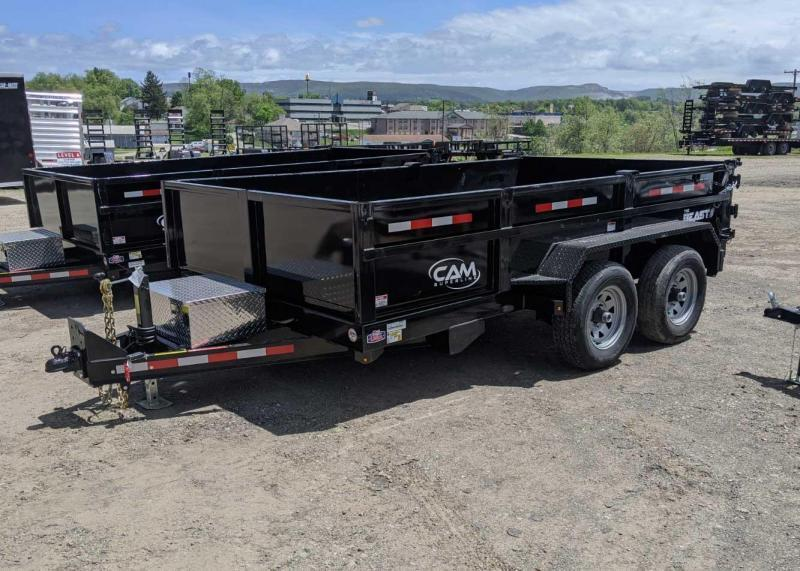 "NEW 2020 CAM Superline 6'9"" x 12' Lo Pro Equipment Dump Trailer"