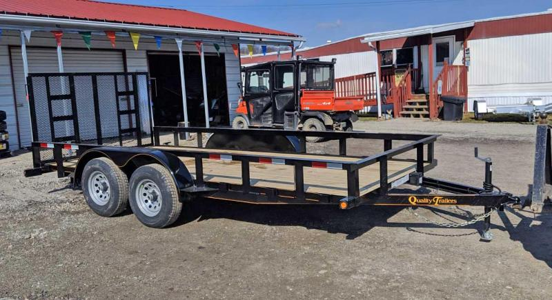 NEW 2020 Quality 7x16 General Duty  Utility Trailer (No Dove)