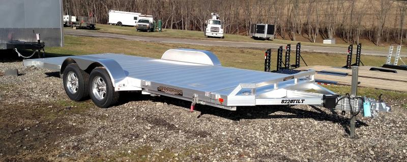 "NEW 2020 Aluma 20' (20"" Stationary + 20' Tilt) HD Tilt Trailer"
