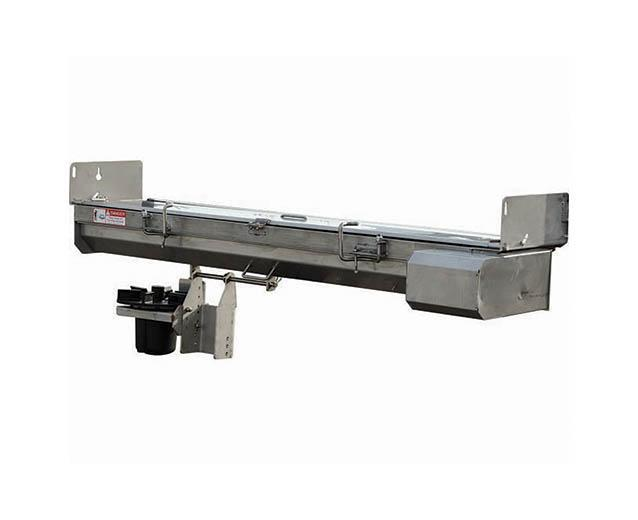 """NEW Saltdogg 96"""" Electric Under Tailgate Stainless Steel Spreader - Center Discharge (Only 1 in Stock!)"""