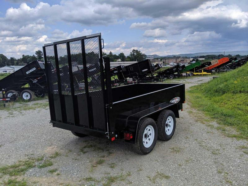 NEW 2020 Bri-Mar 5x10 Lo Pro Equipment Dump w/ Landscape Gate