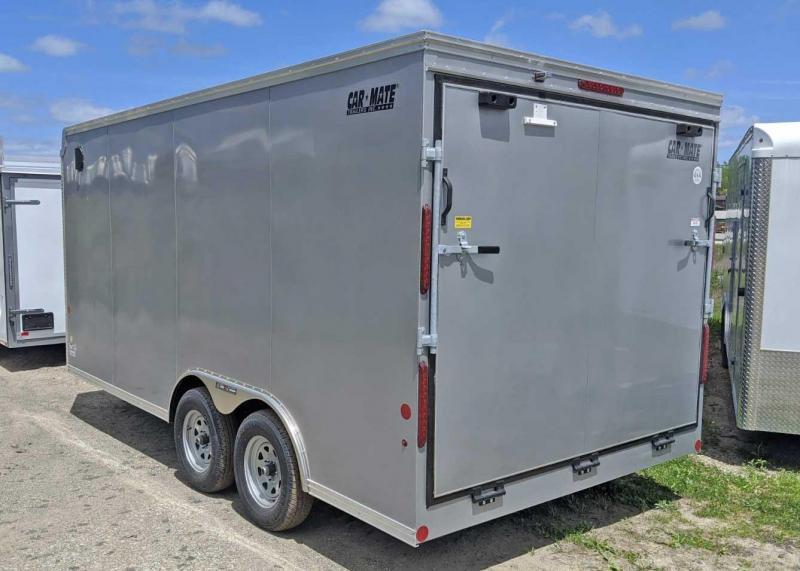 NEW 2020 CAR MATE 8x16 HD Custom Cargo Trailer w/ Ramp Rear Door