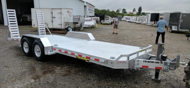 NEW 2019 Aluma 18' HD Lo Pro Equipment Trailer (14K)