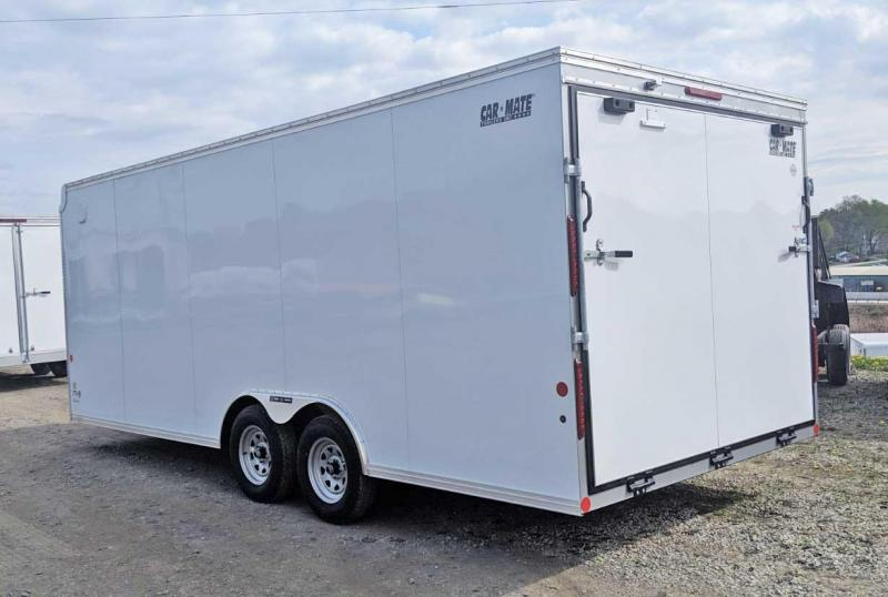 NEW 2020 Car Mate 8.5 x 20 Custom Car Hauler w/ Ramp
