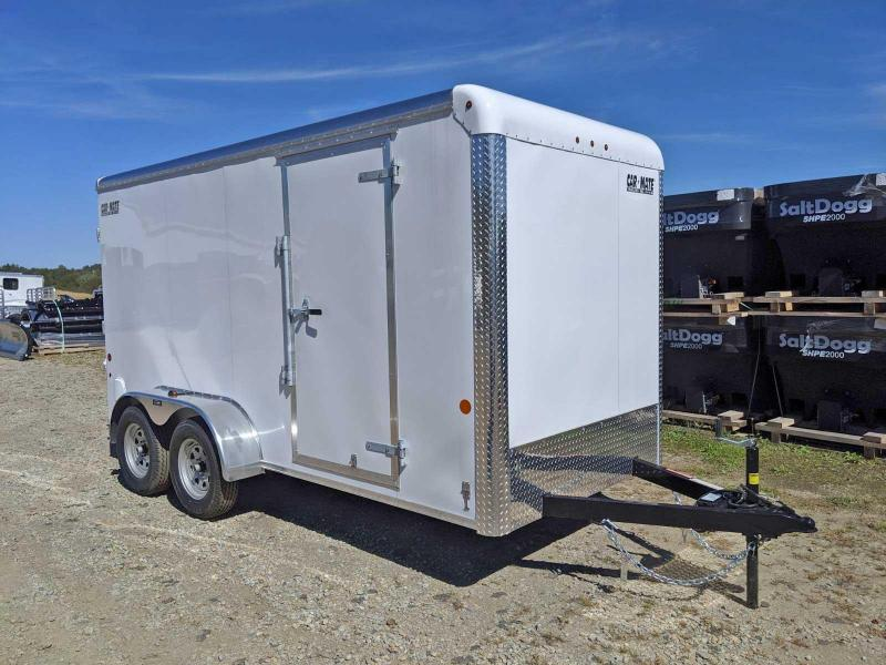 NEW 2020 Car Mate 6x14 HD Custom Cargo Trailer w/ Rear Ramp Door