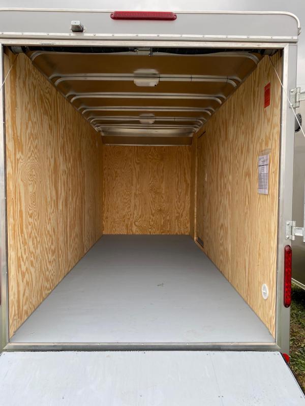 "NEW 2020 Car Mate 7x14 Custom Cargo w/ Ramp - 12"" Additional Height"
