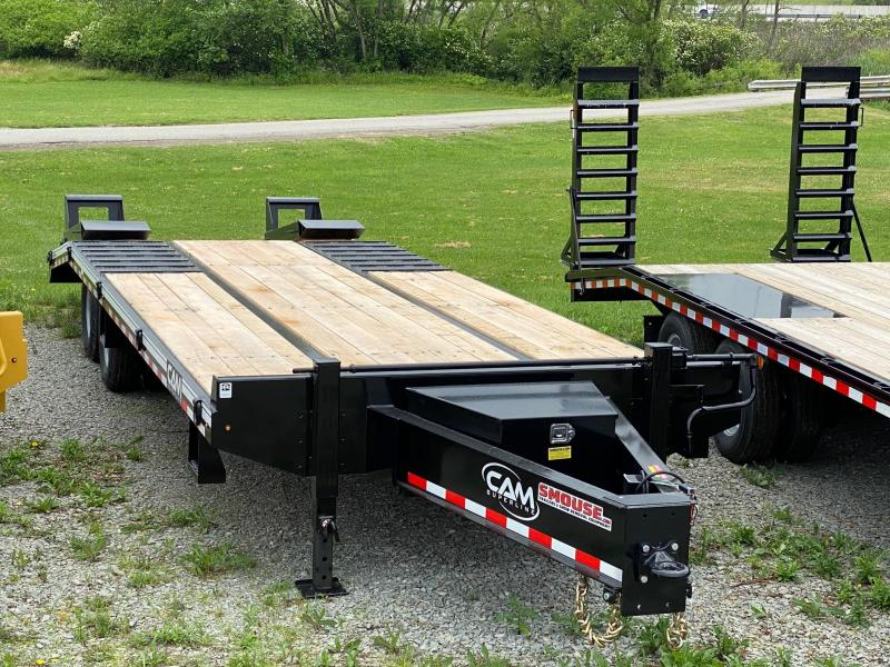 NEW 2020 CAM SUPERLINE 20+5 HD Deckover Tagalong w/ Electric Brakes & Wood Filled Ramps