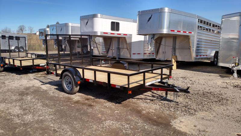NEW 2020 Quality 6x12 PRO Utility Trailer w/ Spring Assist / Lay Flat Gate