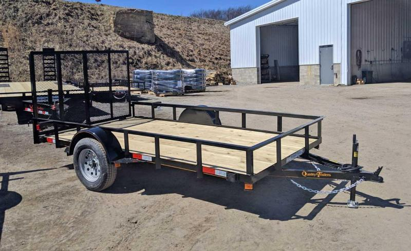NEW 2021 Quality 6x12 General Duty Utility Trailer