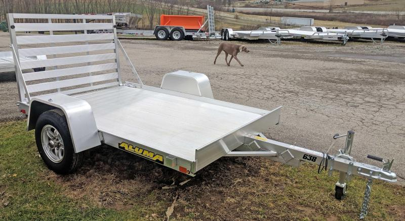 "NEW 2020 Aluma 5'3"" x 8 LW Utility Trailer"