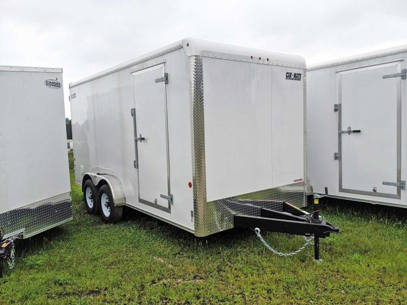 NEW 2020 Car Mate 7x16 HD Custom Cargo Trailer w/ Barn Doors
