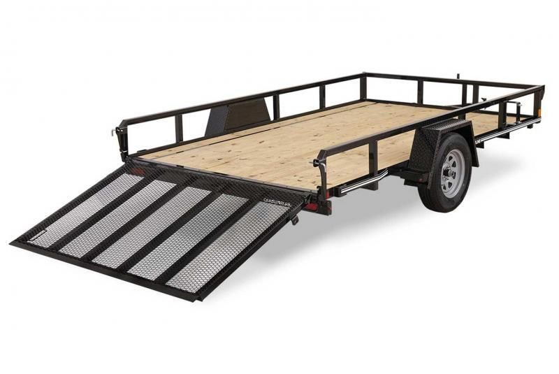 NEW CAM Superline 5x10 Utility Trailer w/ Tube Top & Spring Assist Gate