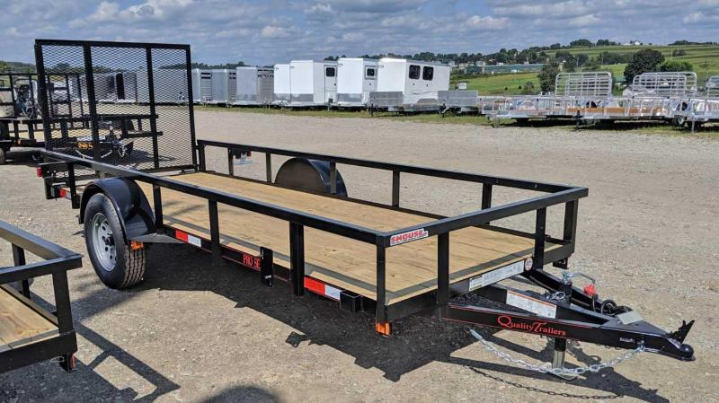 NEW 2020 Quality 5x14 PRO Utility w/ Spring Assist/Lay Flat Gate