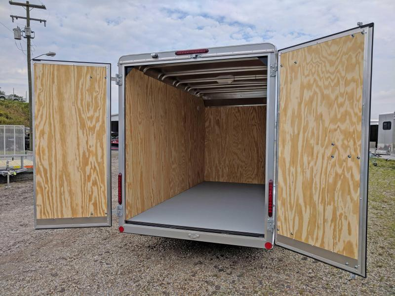 NEW 2020 Car Mate 6x12 Custom Cargo Trailer w/ Rear Barn Doors