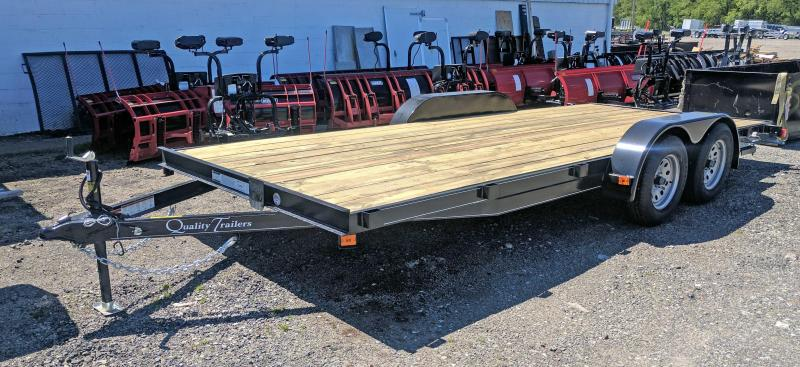 "NEW 2020 Quality 18' Econo Car Hauler w/ 51"" Underbody Ramps (NO DOVE)"