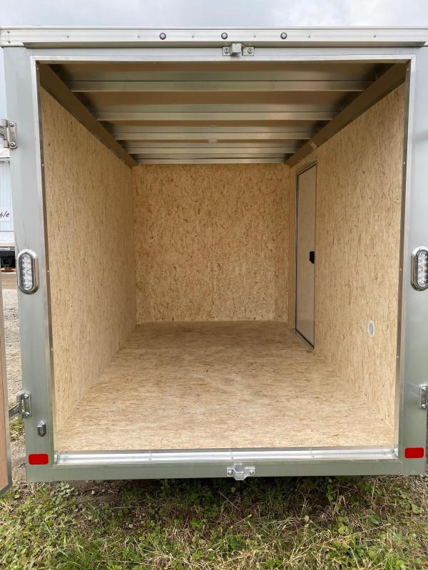 NEW 2020 6x10 Raven Aluminum  Cargo Trailer w/ Rear Barn Doors