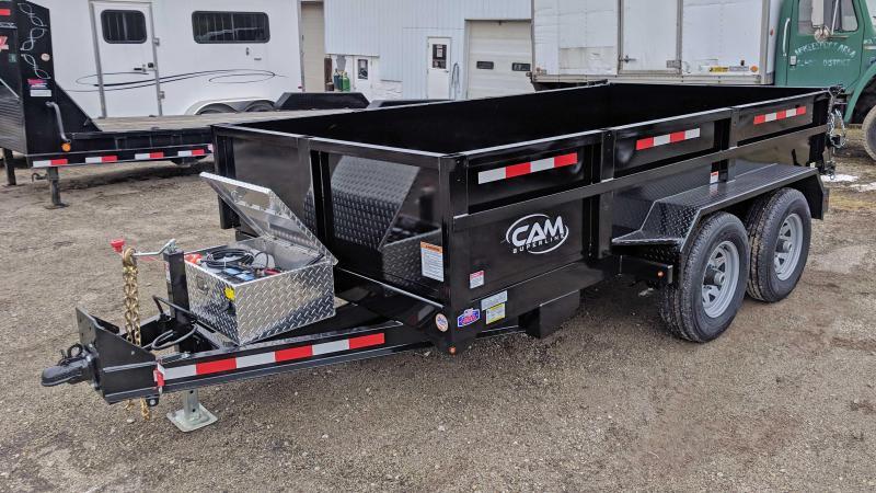 NEW 2020 CAM Superline 6x10 Lo Pro Equipment Dump Trailer
