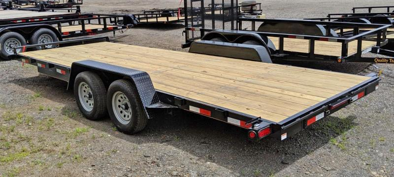 NEW 2020 Quality 20' General Duty Car Hauler (No Dove)