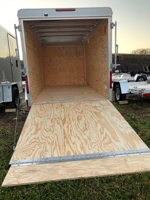 NEW 2020 Car Mate 6x12 Sportster Cargo Trailer w/Ramp