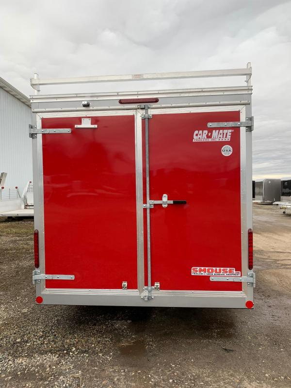 NEW 2020 Car Mate 7x16 HD Contractor Trailer w/ Rear Barn Doors