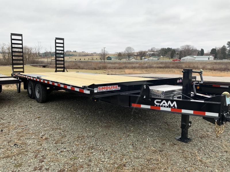 NEW 2020 CAM 18+4 Deckover Tagalong w/Stand up Ramps