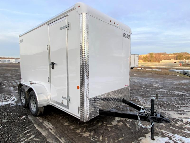 NEW 2020 Car Mate 6x12 HD Tandem Sportster Cargo Trailer w/ Rear Barn Doors