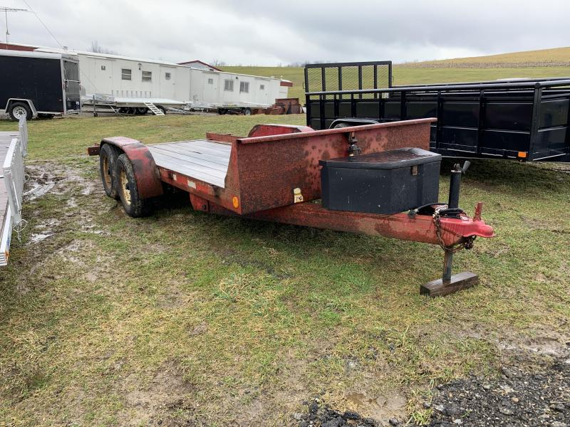 USED 2000 Alexander 18' Power Tilt Equipment Hauler