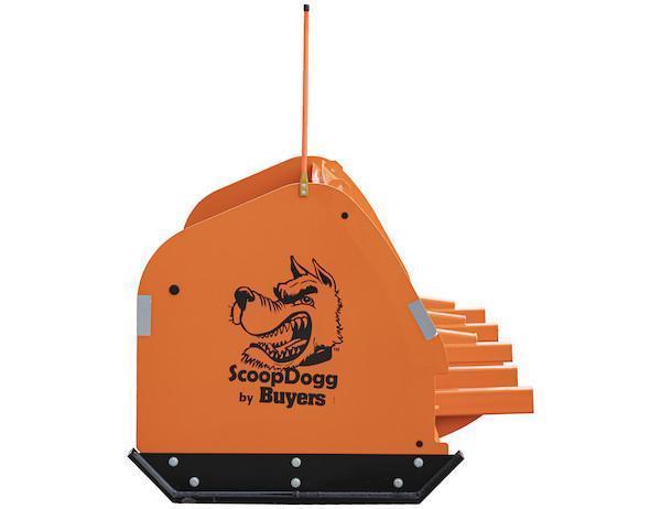 NEW SCOOPDOGG 12' LOADER PUSHER SAFETY ORANGE