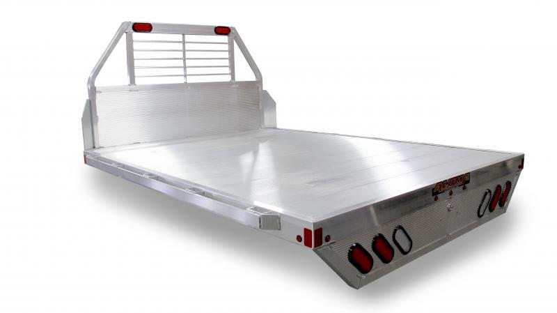 "NEW 2020 Aluma 6'9"" x 7'6"" (81"" x 90"") Aluminum Single Wheel Flat Bed (Fits Short Bed Trucks)"