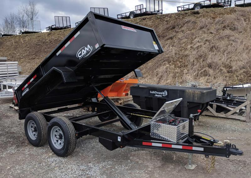 "NEW 2020 CAM SUPERLINE ""Advantage"" 6x10 Lo Pro Dump Trailer ."