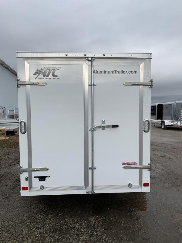 NEW 2020 ATC 6x10  Raven Aluminum Cargo Trailer w/ Rear Barn Doors