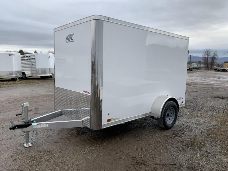 NEW 2020 ATC 6x10  Raven Aluminum Cargo Trailer w/ Rear Barn Doors