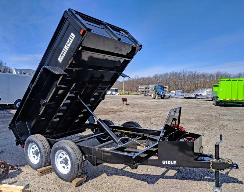 NEW 2020 Bri-Mar 6x10 Lo Pro Dump Trailer (7K)