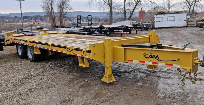 NEW 2020 CAM Superline 20+5 HD Deckover Tagalong Trailer w/ Air Brakes