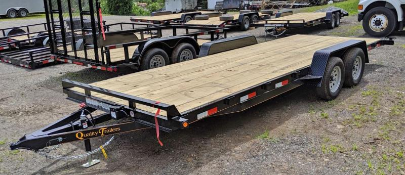 NEW 2020 Quality 20' General Duty Car Hauler w/ NO DOVE