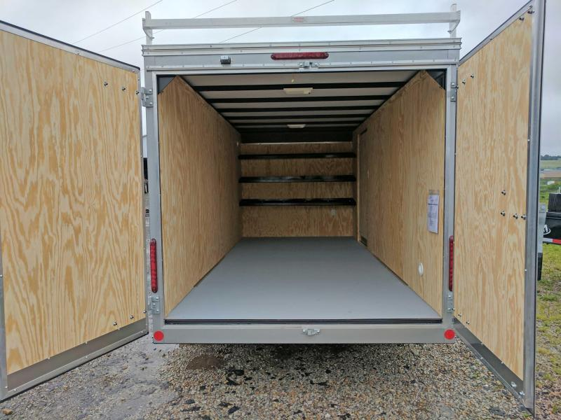 NEW 2020 Car Mate 7x16 HD Custom Contractor Trailer w/ Barn Doors (9990# GVW)