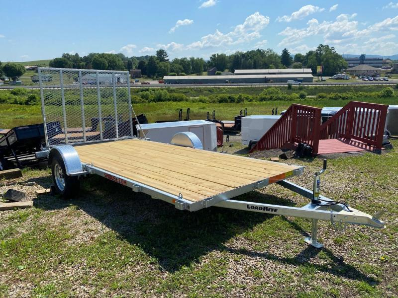NEW 2020 Load Rite 6.5 x 14 Galvanized Utility Trailer (Great for Side By Sides!)