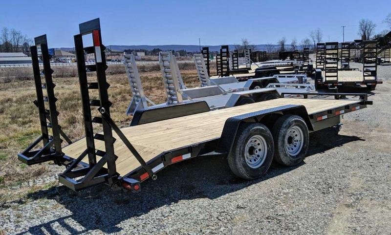 NEW 2020 Quality 18' PRO Equipment Hauler w/ 2' Dove & Stand up Ramps