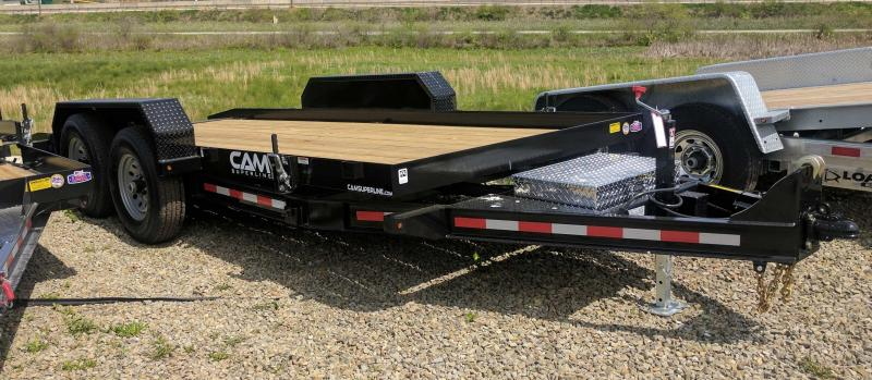 NEW 2020 CAM SUPERLINE 18' Lo Pro Full Tilt Trailer (5k Axles)