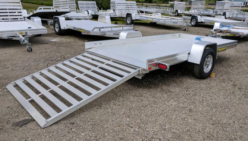 NEW 2020 Aluma 6x12 HD Utility Trailer w/ Slide Out Ramp